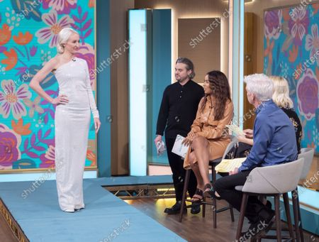 Stock Picture of David O'Brien, Rochelle Humes, Holly Willoughby and Phillip Schofield