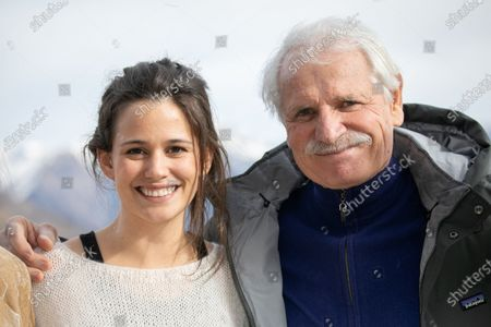 Stock Picture of Lucie Lucas and Yann Arthus-Bertrand