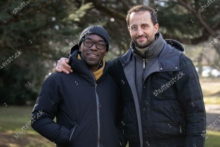 Lucien Jean-Baptiste and Arie El Maleh during the 'He Already Has Your Eyes' photocall