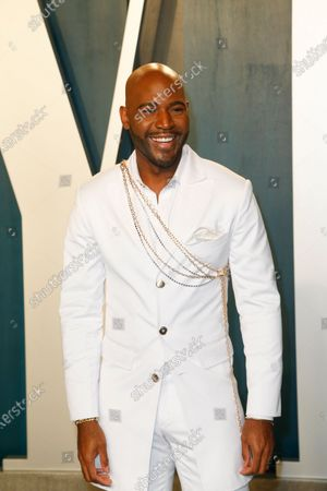 Karamo Brown attends the 2020 Vanity Fair Oscar Party following the 92nd annual Academy Awards ceremony in Beverly Hills, California, USA, 09 February 2020 (Issued 10 February 2020).