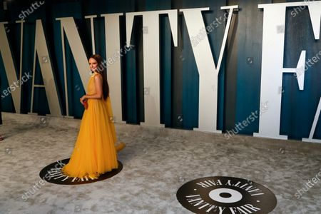Catt Sadler attends the 2020 Vanity Fair Oscar Party following the 92nd annual Academy Awards ceremony in Beverly Hills, California, USA, 09 February 2020 (Issued 10 February 2020).