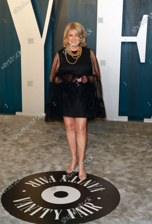 Martha Stewart attends the 2020 Vanity Fair Oscar Party following the 92nd annual Academy Awards ceremony in Beverly Hills, California, USA, 09 February 2020 (Issued 10 February 2020).