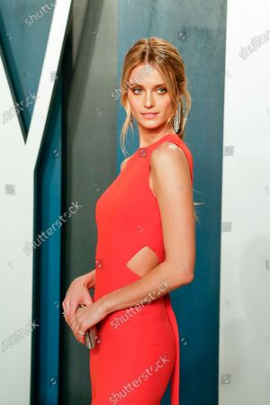 Kate Bock attends the 2020 Vanity Fair Oscar Party following the 92nd annual Academy Awards ceremony in Beverly Hills, California, USA, 09 February 2020 (Issued 10 February 2020).