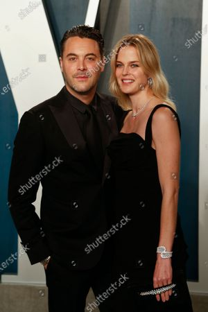 Stock Photo of Jack Huston and Shannan Click attend the 2020 Vanity Fair Oscar Party following the 92nd annual Academy Awards ceremony in Beverly Hills, California, USA, 09 February 2020 (Issued 10 February 2020).