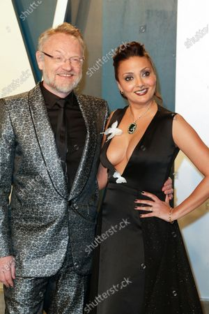 Stock Picture of Jared Harris and Allegra Riggio attend the 2020 Vanity Fair Oscar Party following the 92nd annual Academy Awards ceremony in Beverly Hills, California, USA, 09 February 2020 (Issued 10 February 2020).