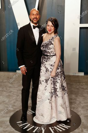 Keegan-Michael Key and Elisa Key attend the 2020 Vanity Fair Oscar Party following the 92nd annual Academy Awards ceremony in Beverly Hills, California, USA, 09 February 2020 (Issued 10 February 2020).