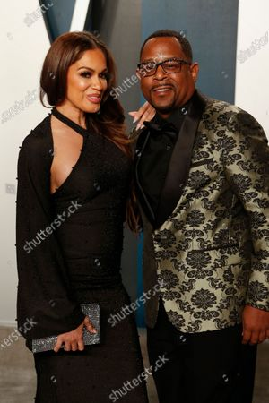 Roberta Moradfar (L) and Martin Lawrence  attend the 2020 Vanity Fair Oscar Party following the 92nd annual Academy Awards ceremony in Beverly Hills, California, USA, 09 February 2020 (Issued 10 February 2020).