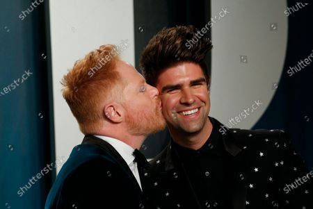 Justin Mikita and Jesse Tyler Ferguson attend the 2020 Vanity Fair Oscar Party following the 92nd annual Academy Awards ceremony in Beverly Hills, California, USA, 09 February 2020 (Issued 10 February 2020).