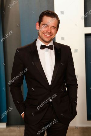 Jason Ralph attends the 2020 Vanity Fair Oscar Party following the 92nd annual Academy Awards ceremony in Beverly Hills, California, USA, 09 February 2020 (Issued 10 February 2020).
