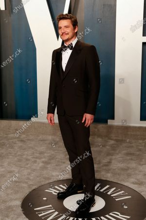 Stock Image of Pedro Pascal attends the 2020 Vanity Fair Oscar Party following the 92nd annual Academy Awards ceremony in Beverly Hills, California, USA, 09 February 2020 (Issued 10 February 2020).