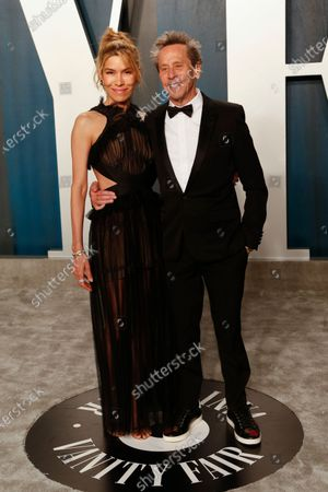 Veronica Smiley (L) and Brian Grazer attend the 2020 Vanity Fair Oscar Party following the 92nd annual Academy Awards ceremony in Beverly Hills, California, USA, 09 February 2020 (Issued 10 February 2020).