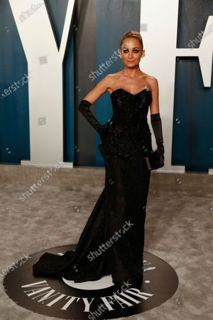 Nicole Richie attends the 2020 Vanity Fair Oscar Party following the 92nd annual Academy Awards ceremony in Beverly Hills, California, USA, 09 February 2020 (Issued 10 February 2020).