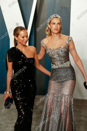 Jennifer Meyer (L) and Sara Foster attend the 2020 Vanity Fair Oscar Party following the 92nd annual Academy Awards ceremony in Beverly Hills, California, USA, 09 February 2020 (Issued 10 February 2020).