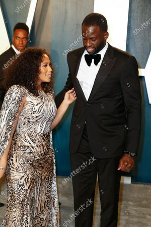 Hazel Renee and Draymond Green attend the 2020 Vanity Fair Oscar Party following the 92nd annual Academy Awards ceremony in Beverly Hills, California, USA, 09 February 2020 (Issued 10 February 2020).