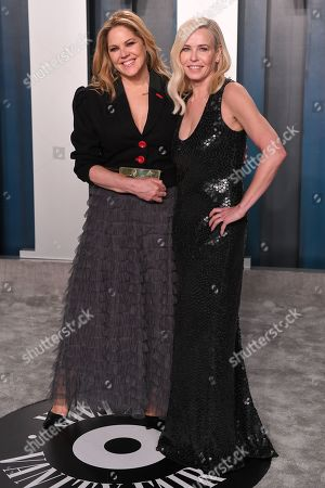Stock Picture of Mary McCormack and Chelsea Handler