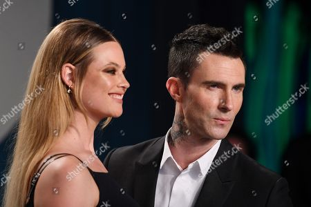 Behati Prinsloo and Adam Levine