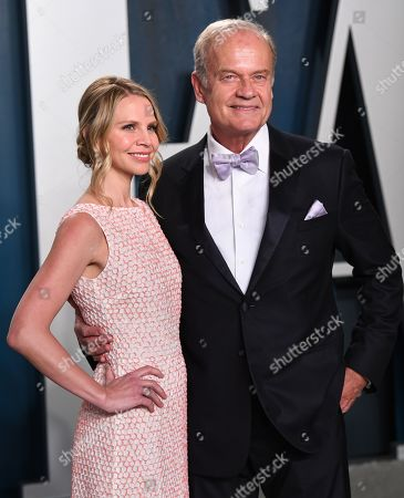 Stock Picture of Kayte Walsh and Kelsey Grammer