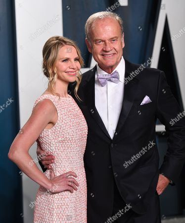 Stock Image of Kayte Walsh and Kelsey Grammer