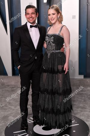 Stock Picture of Jason Ralph and Rachel Brosnahan