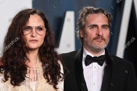 Joaquin Phoenix and Rain Phoenix