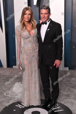 Nicole Kimpel and Antonio Banderas