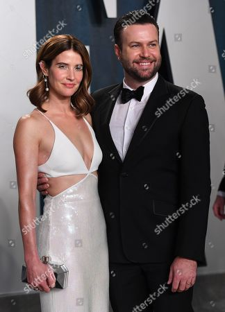 Stock Image of Cobie Smulders and Taran Killam