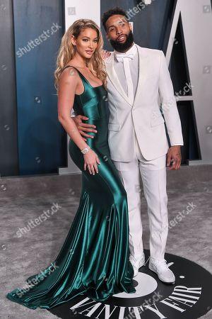 Stock Image of Lauren Wood and Odell Beckham Jr.
