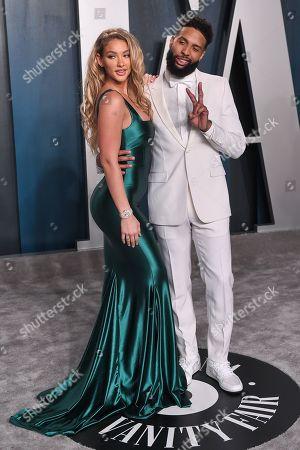 Stock Photo of Lauren Wood and Odell Beckham Jr.