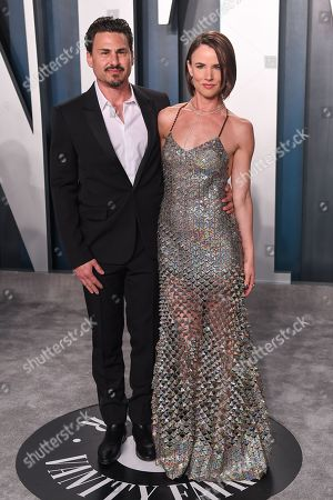 Stock Image of Brad Wilk and Juliette Lewis