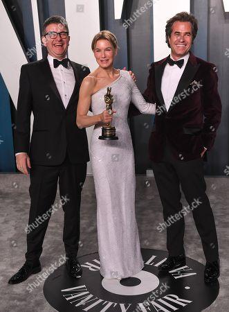 Renee Zellweger, David Livingstone and Rupert Goold