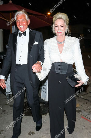 Stock Photo of George Hamilton and Kelly Day