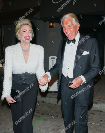 Stock Image of George Hamilton and Kelly Day