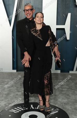 Jeff Goldblum and wife Emilie