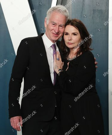 John McEnroe and Patti Smyth