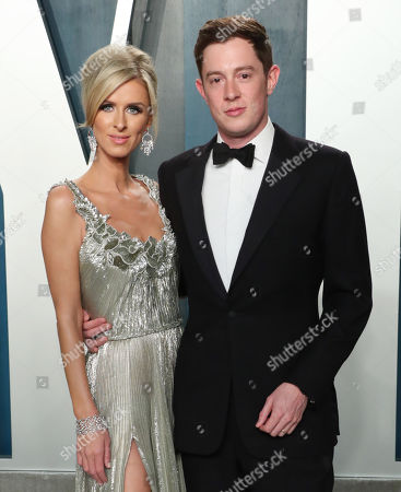Stock Picture of Nicky Hilton Rothschild and James Rothschild