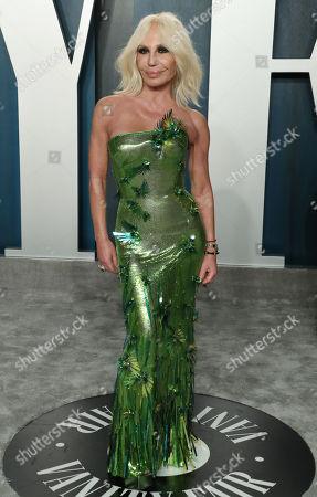 Stock Picture of Donatella Versace