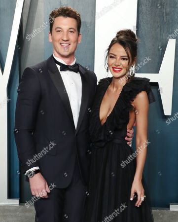 Miles Teller and wife Keleigh Sperry