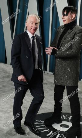 Bill Maher and Marilyn Manson