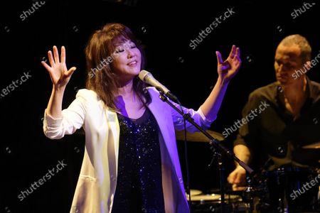 Editorial image of Youn Sun Nah in concert, Boulogne-Billancourt, Paris, France - 06 Feb 2020