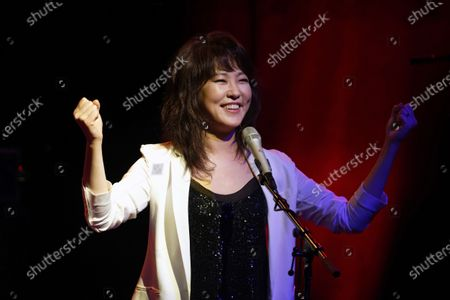 Editorial photo of Youn Sun Nah in concert, Boulogne-Billancourt, Paris, France - 06 Feb 2020
