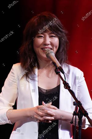Editorial image of Youn Sun Nah in concert, Boulogne-Billancourt, Paris, France - 06 Feb 2020