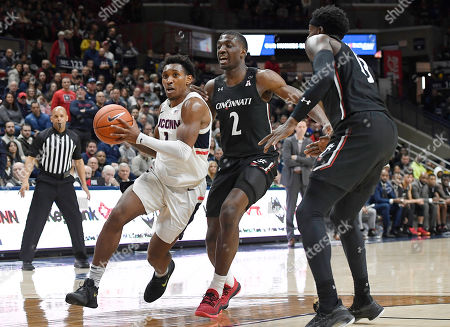 Editorial photo of Cincinnati UConn Basketball, Storrs, USA - 09 Feb 2020