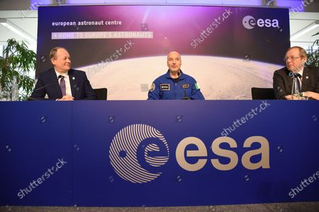 Editorial image of European Space Agency astronaut Luca Parmitano press conference, Cologne, Germany - 08 Feb 2020