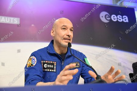 Editorial picture of European Space Agency astronaut Luca Parmitano press conference, Cologne, Germany - 08 Feb 2020