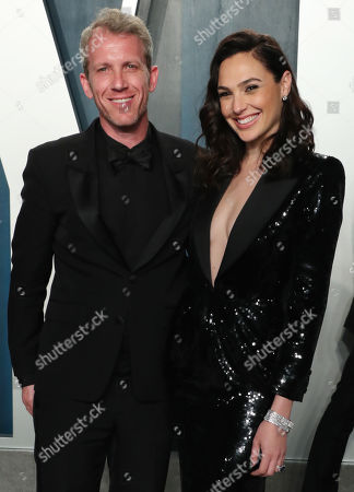 Stock Image of Gal Gadot and husband Yaron Varsano
