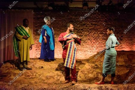 Editorial photo of 'The High Table' play, press photocall, The Bush Theatre, London, UK - 10 Feb 2020