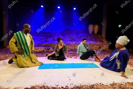 Editorial image of 'The High Table' play, press photocall, The Bush Theatre, London, UK - 10 Feb 2020