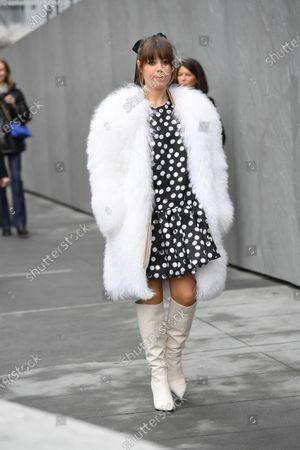 Editorial image of Street Style, Fall Winter 2020, New York Fashion Week, USA - 10 Feb 2020
