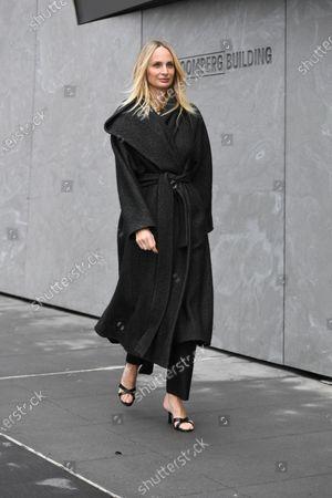 Editorial photo of Street Style, Fall Winter 2020, New York Fashion Week, USA - 10 Feb 2020