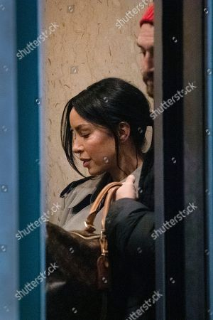 Stock Picture of Mexican model Claudia Salinas leaves court after testifying in Harvey Weinstein's rape trial, in New York. The Mexican model and actress denies a Harvey Weinstein accuser's claim that she stood by and did nothing while the once-powerful movie mogul groped the woman in a Beverly Hills hotel in 2013